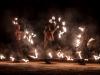 """Mystische Wintersonnenwende am Wallersee """"Burning Animal"""". mit einer Feuershow von Drums on Fire.  Eine überdimensionale, meterhohe Holzeule, erbaut von Künstler Andraw Art und Alexander Perner, am Strandbad in Seekirchen am 21.12.2019   Foto und Copyright: Moser Albert, Fotograf, 5201 Seekirchen, Weinbergstiege 1, Tel.: 0043-676-7550526 mailto:albert.moser@sbg.at  www.moser.zenfolio.com"""