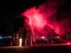 """Mystische Wintersonnenwende am Wallersee """"Burning Animal"""".  Eine überdimensionale, meterhohe Holzeule, erbaut von Künstler Andraw Art und Alexander Perner, am Strandbad in Seekirchen am 21.12.2019   Foto und Copyright: Moser Albert, Fotograf, 5201 Seekirchen, Weinbergstiege 1, Tel.: 0043-676-7550526 mailto:albert.moser@sbg.at  www.moser.zenfolio.com"""