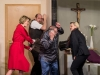 """Theatergruppe Neumarkt am Wallersee mit dem Stück """"Chaos im Bestattungshaus"""" von Winnie Abel; Probe beim GH Gerbl in Neumarkt am 27.03.2019   Foto und Copyright: Moser Albert, Fotograf, 5201 Seekirchen, Weinbergstiege 1, Tel.: 0043-676-7550526 mailto:albert.moser@sbg.at  www.moser.zenfolio.com"""