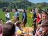 """Maibaumaufstellen bei der Waschlmühle in Ebenau am 01.05.2019, organisiert vom Trachtenverein """"D'Stoawandler"""" Ebenau;   Foto und Copyright: Moser Albert"""