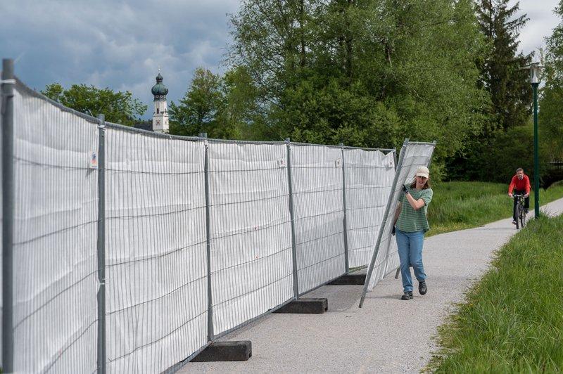 Festival Supergau für zeitgenössische KUnst (18 Projekte vom 14.-24.05.2021) am 16.05.2021.   Künstlerische Leitung: Tina Hein und Theo Deutinger   Projekt